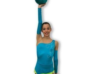 Body ginnastica ritmica Pastorelli, mod. Alizee