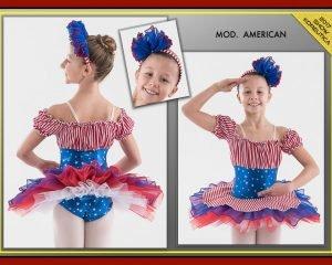 Tutù American bimba
