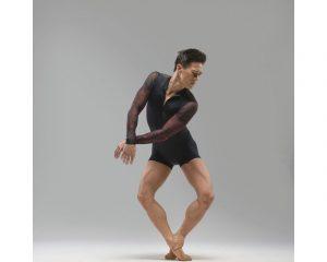 Accademico uomo con stampe Ballet Rosa, mod. Dante