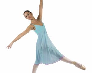 Abito imperiale bimba Ballet Rosa, mod. Patricia