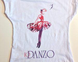 T-shirt bimba Io Danzo