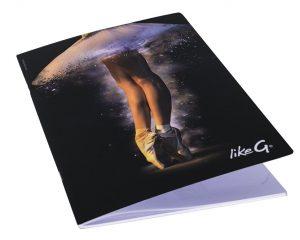 Quaderno A4 danza LikeG