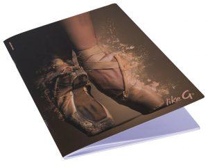 Quaderno A4 danza LikeG, righe