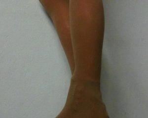 Calza americana copripattino