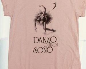 T-shirt Danzo Quindi Sono - mod. ampio