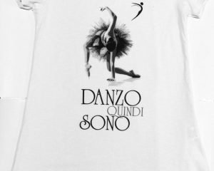 T-shirt Danzo Quindi Sono - mod. back longer