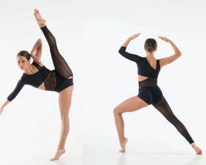 Accademico danza in lycra e mesh
