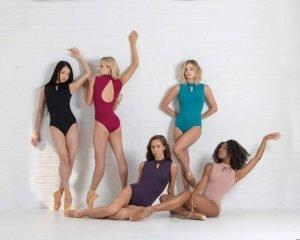 Body danza Ballet Rosa mod. Celestine