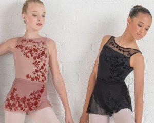 Gonnellino danza in microrete mod. Leonie