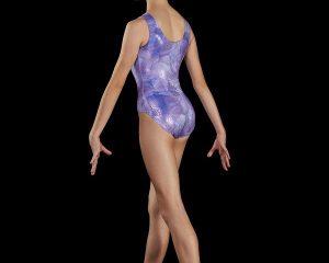 Body ginnastica artistica fantasia, taglie ragazza