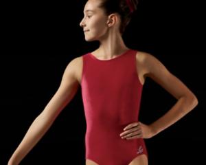 Body ginnastica artistica velluto - adulta