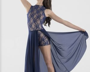 Body in pizzo con gonna mod. Rhonda