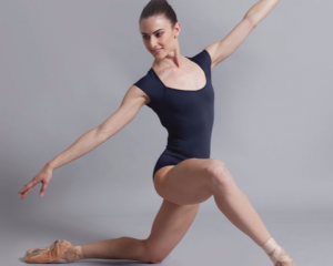 Body danza Ballet Rosa mod. Sissi