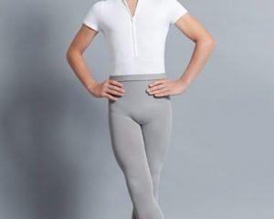 Body danza uomo con zip Ballet Rosa